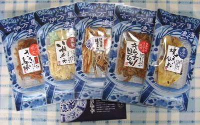 アイ・ケイ・ケイより東証一部上場記念の株主優待が届きました。-1「古伊万里浪漫珍味セット」