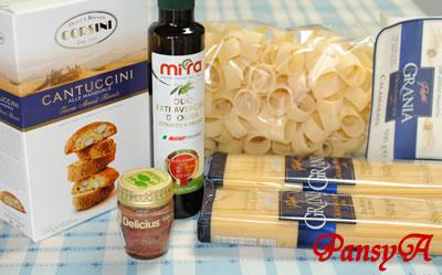(株)サイゼリヤ〔7581〕より株主優待の「イタリア直輸入の食料品」が届きました。(全商品の写真)
