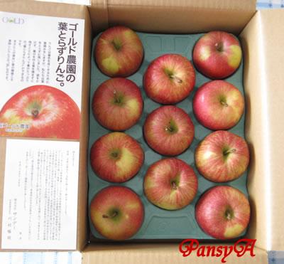 (株)サンデー〔7450〕より株主優待の「りんご」が届きました。