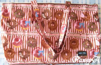 (株)サックスバー ホールディングス(東京デリカ)〔9990〕より株主優待の「ハピタス 」ポケッタブルトートバッグ が届きました。