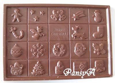 今年も(meito)クリスマスチョコレートについて詳しく報告します。-3
