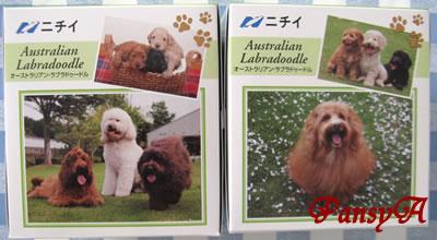 (株)ニチイ学館〔9792〕より「株主優待・選べるプレゼント」で選択した「希少犬種 オーストラリアン・ラブラドゥードル オリジナルティッシュセット(12箱入り)」が届きました。-2