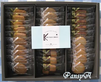 (株)NSD〔9759〕より、株主優待の〔選択した商品〕「神戸浪漫 神戸トラッドクッキー30枚」(1000ポイントの商品)が届きました。-1