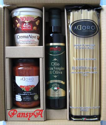 (株)サイゼリヤ〔7581〕より株主優待の「イタリア直輸入の食材セット」が届きました。