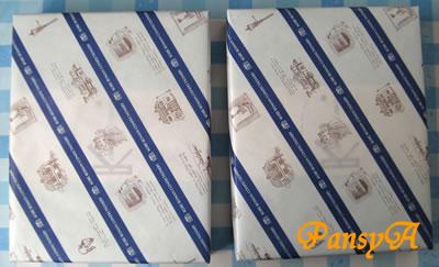 (株)NSD〔9759〕より、株主優待の〔選択した商品〕「神戸浪漫 神戸トラッドクッキー30枚」(1000ポイントの商品)×2点が届きました。-1