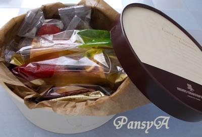 (株)MORESCO〔5018〕より株主優待の(兵庫県の物産品)「アンリシャルパンティエ」の洋菓子(2,000円相当)が到着しました。