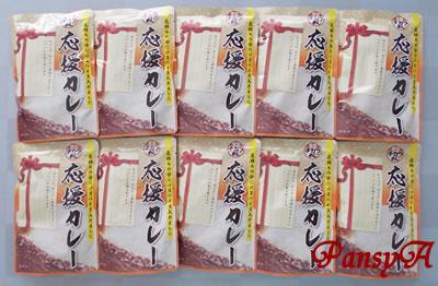 (株)三光マーケティングフーズ〔2762〕より「株主ご優待券(ゴールド)」日曜日~木曜日45%OFF(6枚)と交換した「東京チカラめし」謹製カレー10食入りが届きました。
