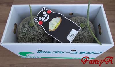 ベルグアース(株)〔1383〕より、選択した株主優待「肥後グリーンメロン2玉セット」(熊本県産・4,000円相当)が届きました。