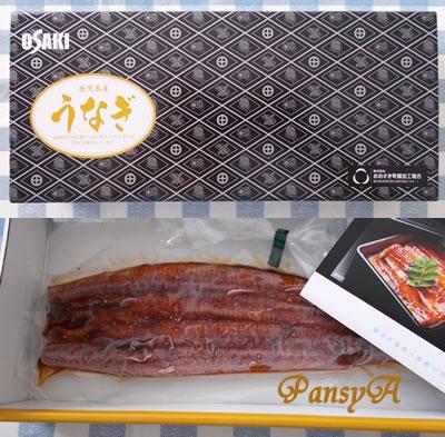 (株)ヨンキュウ〔9955〕より選択した株主優待「西日本養鰻のうなぎ蒲焼(一尾)200g」が到着しました。-1