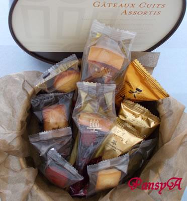 (株)MORESCO〔5018〕より株主優待の(兵庫県の物産品)「アンリシャルパンティエ」の洋菓子(2,000円相当)が到着しました。-2