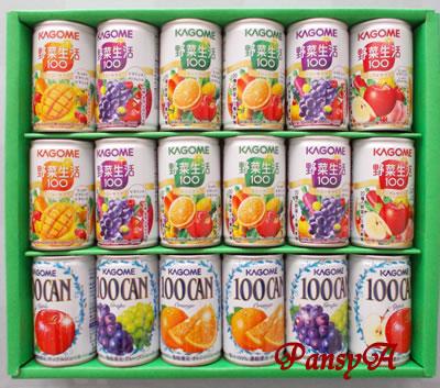 内外トランスライン(株)〔9384〕より株主優待のカゴメ「フルーツ+野菜飲料ギフト」(18本入り)が届きました。2500円相当コース12点の中から選択した商品です。