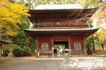秋の比叡山延暦寺の風景(1)