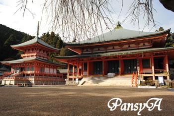 秋の比叡山延暦寺の風景(3)
