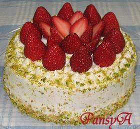 イチゴのケーキ(苺のショートケーキ)のレシピへ