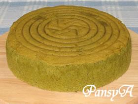 抹茶のスポンジケーキ(15・18・20~21cm丸型)の作り方へ