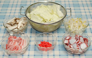 大皿で♪たこ入り太麺焼そば☆紅生姜風味☆【マルちゃんで焼そばパーティ#6】材料
