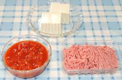 大皿で♪ふんわり豆腐のハンバーグ ☆デミグラス味☆【日本食研さんの2品を使ったパーティレシピ#2】の材料