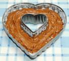 シナモン香る♪ハートのチョコレートケーキ☆】の作り方
