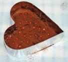 大きなハートのチョコクリスピーの作り方