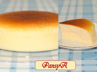 しっとり♪スフレチーズケーキ☆ヨーグルト風味【18cm】