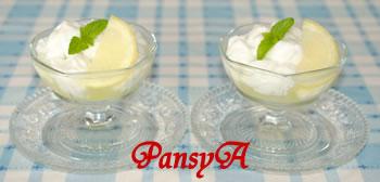 プルプルの♪ミルクのわらび餅のせ☆サクレレモン【サクレレモンでフローズンデザート】
